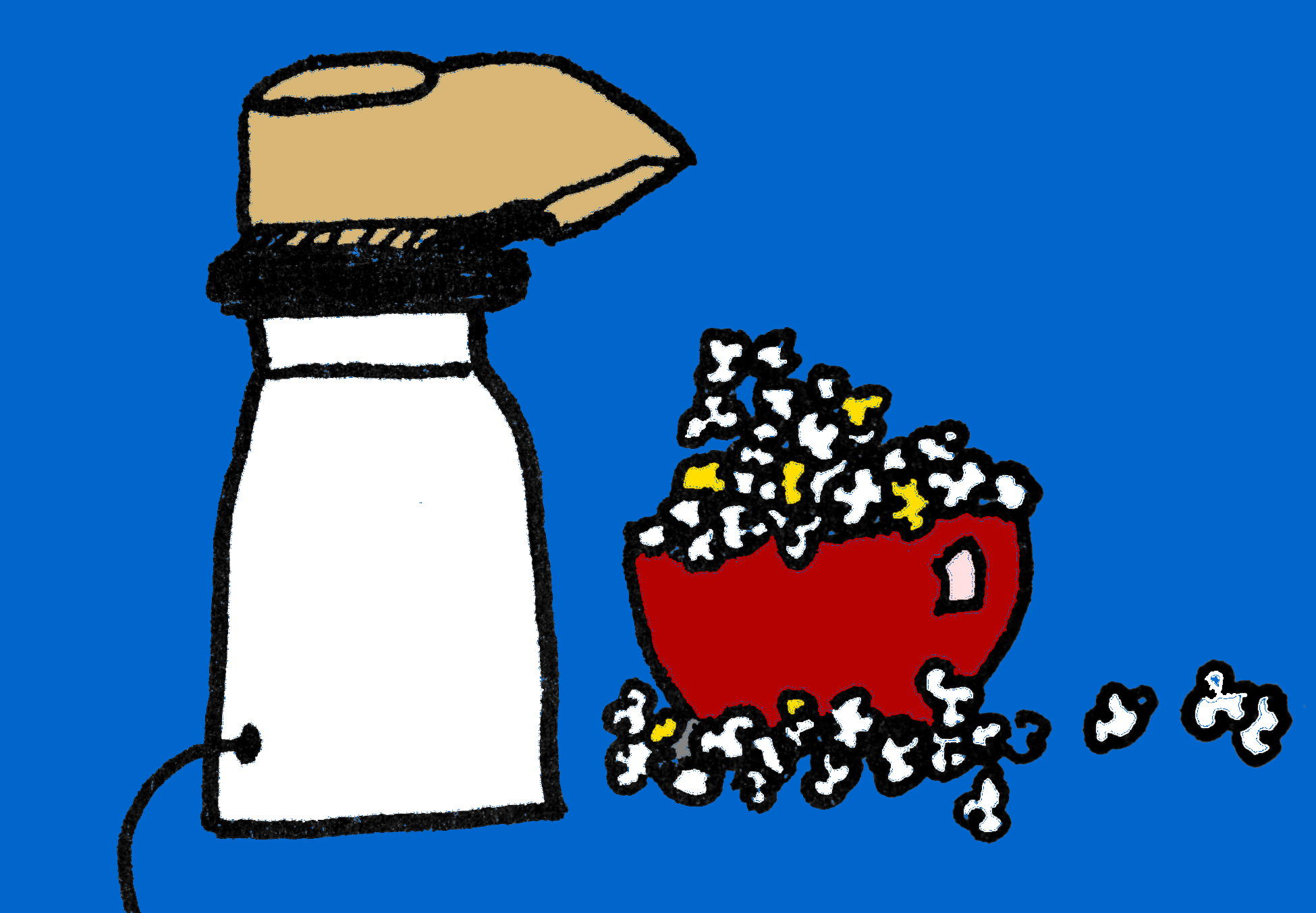 Popcorn and Podcasting
